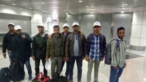 Arrival of New Foreign Workers from Bangladesh